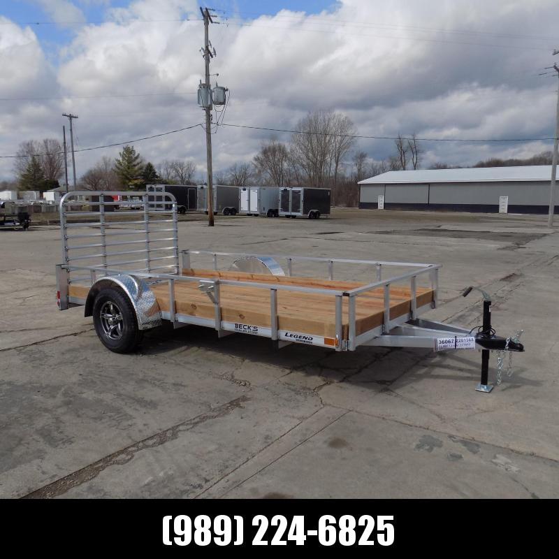 New Legend 6' x 12' Aluminum Utility Trailer For Sale - $0 Down & Payments From $69/mo. W.A.C.