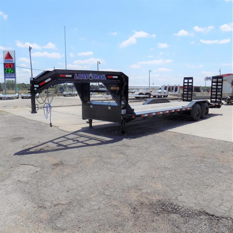 "New Load Trail 102"" x 26' Gooseneck Equipment Trailer With 10K Torsion Axles - $0 Down Finacing Available"