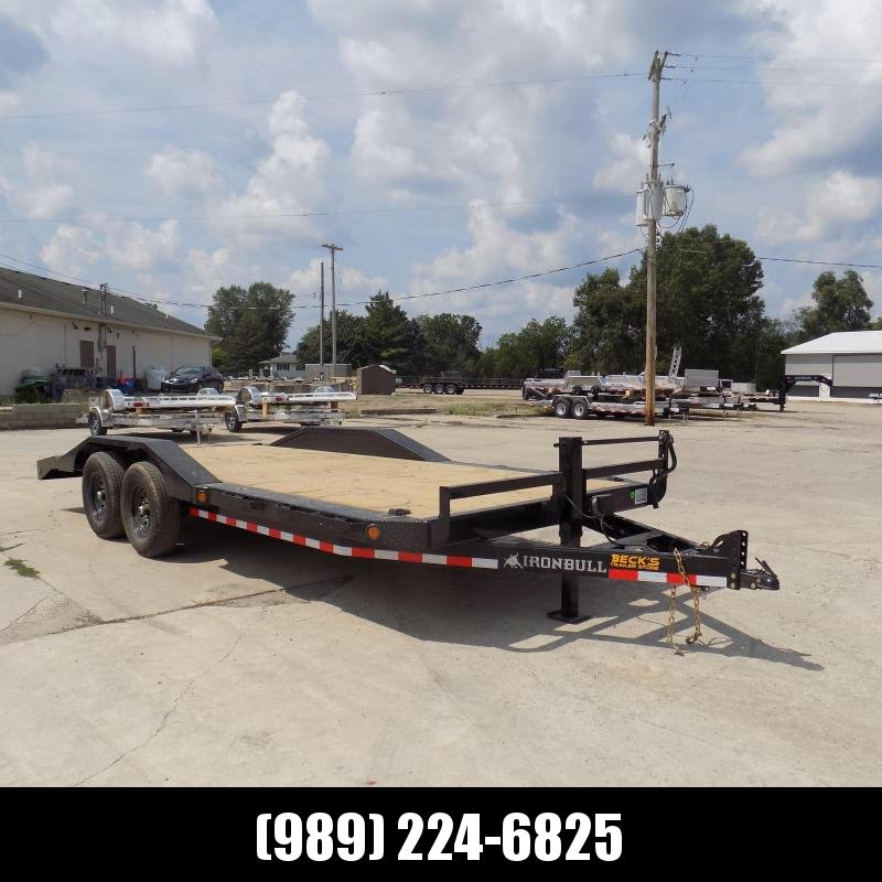 """New Iron Bull 102"""" x 20' Equipment Trailer/Car Hauler - $0 Down With $119/Mo Payments W.A.C."""