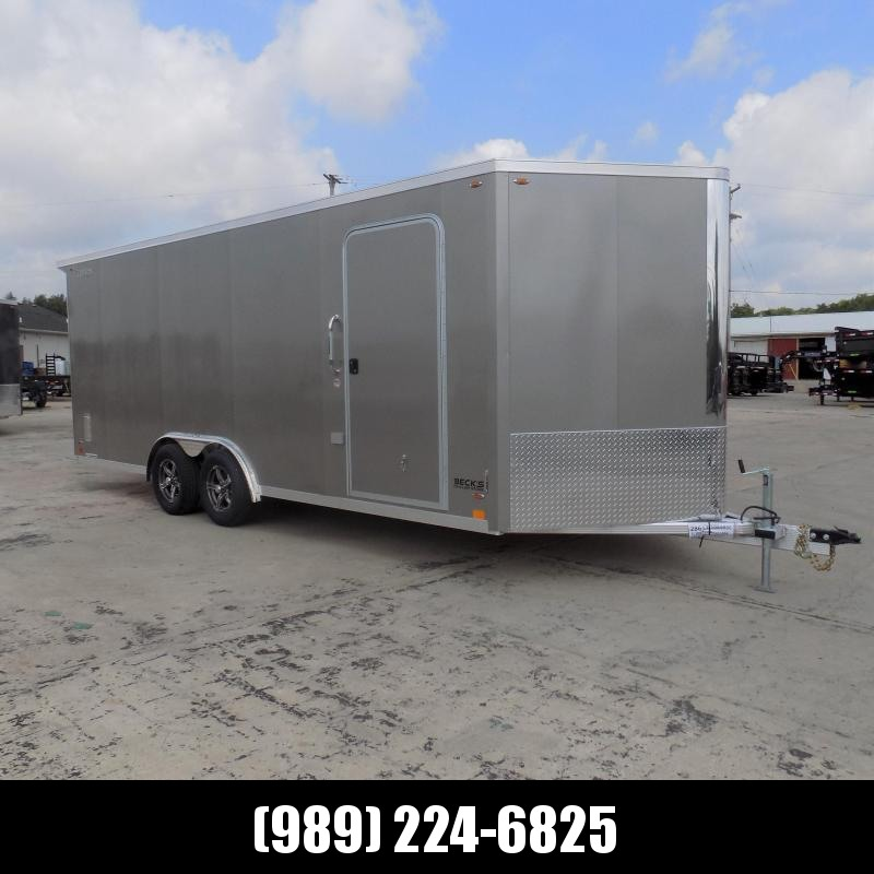 New Legend FTV 8' x 23' Heavy Duty Aluminum Trailer - $0 Down Financing Available - LOADED!