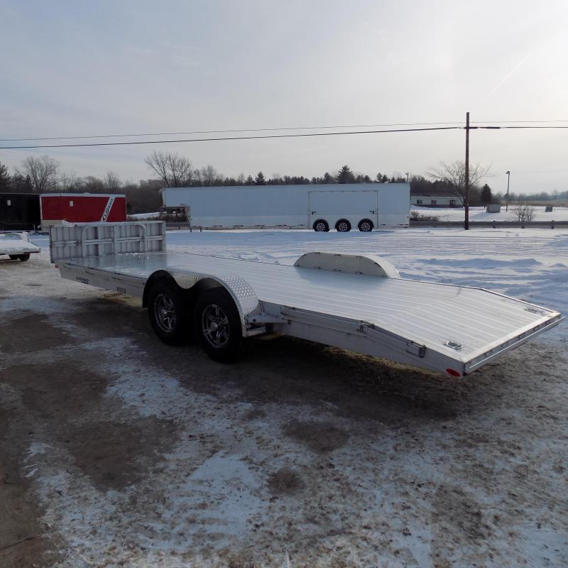 New Legend 7' x 22' Aluminum Open Car Hauler - 5200# Torsion Axles - $0 Down & Payments From $135/mo. W.A.C.