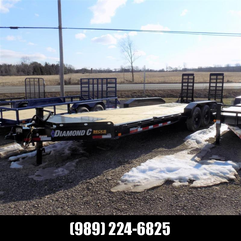 "New Diamond C Trailers LPX 82"" x 24' Triple Axle Equipment Trailer For Sale W/ Over 20K Payload Capacity! $0 Down & Payments from $135/mo. W.A.C."