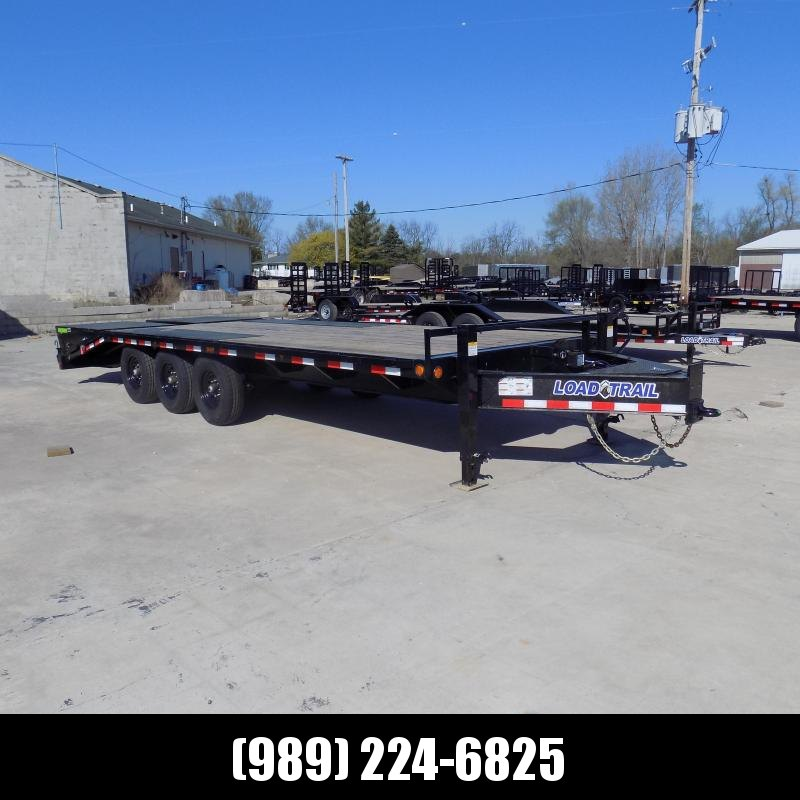 """New Load Trail 102"""" x 24' Triple Axle Deckover Trailer For Sale- $0 Down & Payments From $119/mo. W.A.C."""