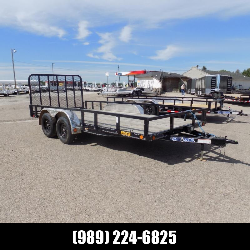 """New Load Trail UT 83"""" x 16' Open Utility Trailer for Sale - $0 Down & Payments From $85/mo. W.A.C."""