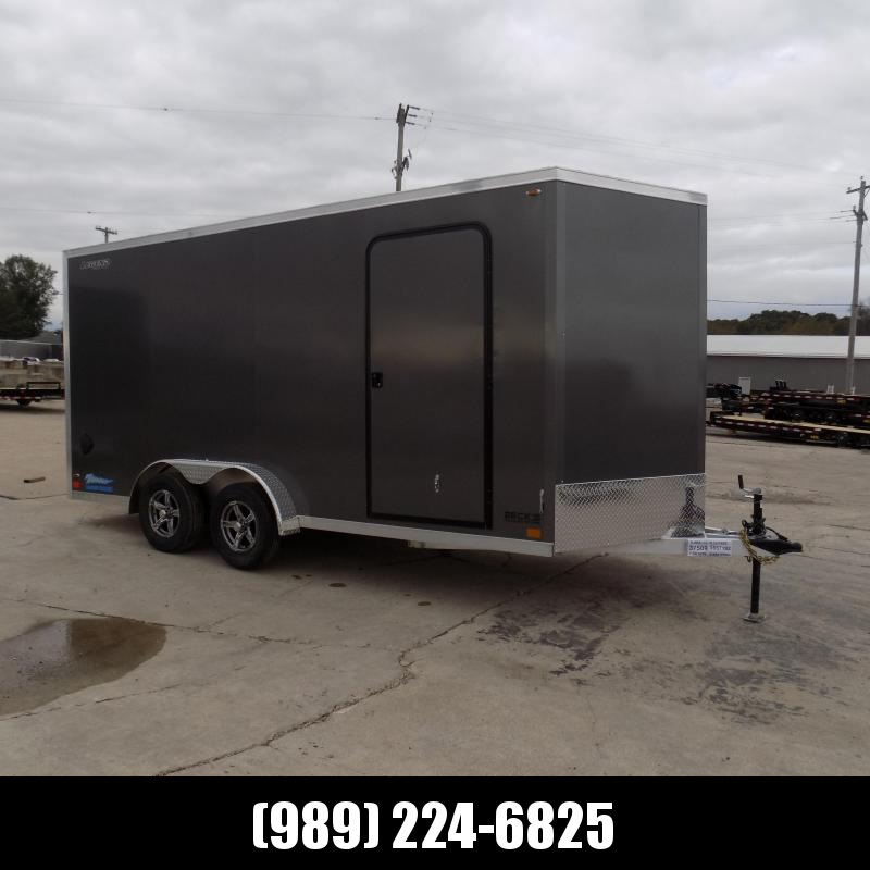 New Legend Thunder 7.5' x 18' Aluminum Enclosed Cargo Trailer for Sale- $0 Down With Flexible Financing Available