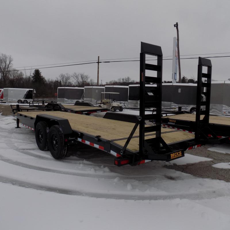 New Load Trailer 7' x 24' Car Hauler Trailer For Sale With 7K Axles - $0 Down Financing Available