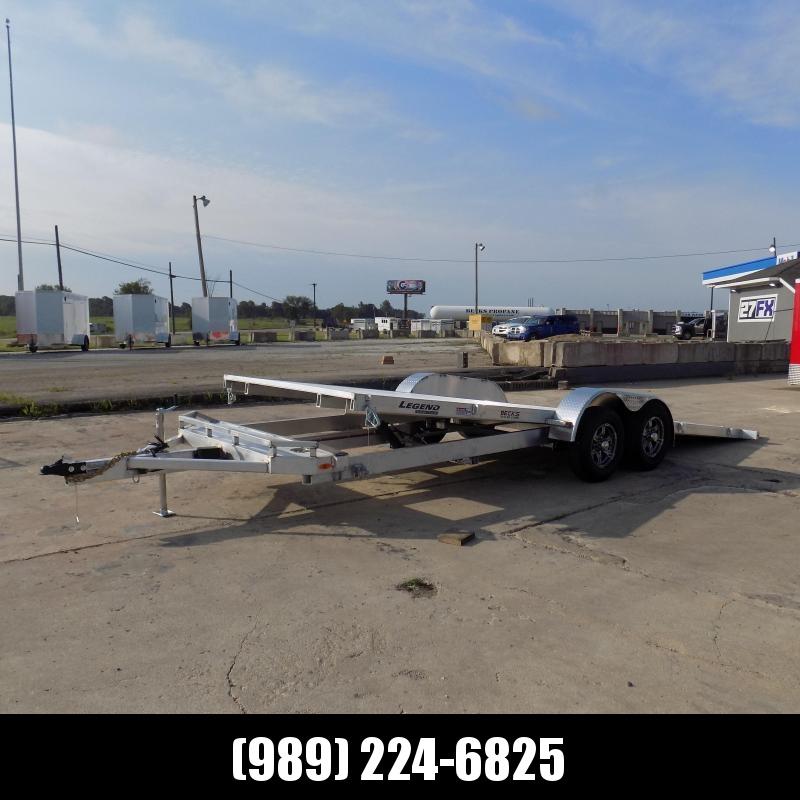 New Legend 7' x 24' Aluminum Tilt Deck Car Hauler - $0 Down & Flexible Financing Available