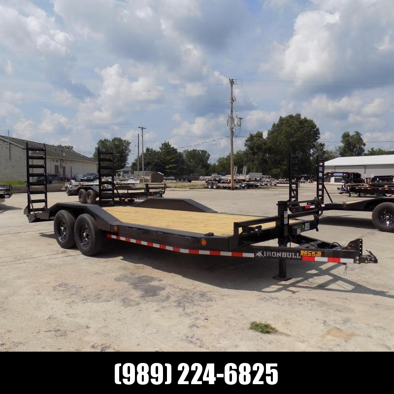 """New Iron Bull 102"""" x 20' Equipment Trailer/Car Hauler - $0 Down With $121/Mo Payments W.A.C."""