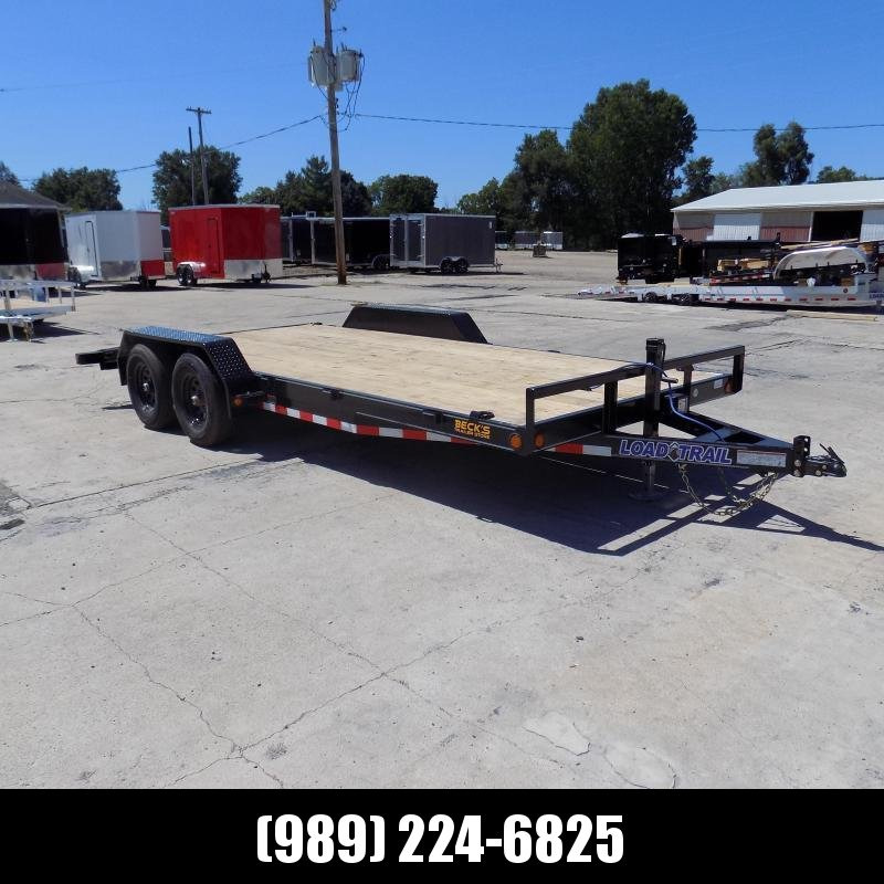 """New Load Trailer 83"""" x 18' Car Hauler Trailer For Sale - $0 Down & Payments from $105/mo. W.A.C."""