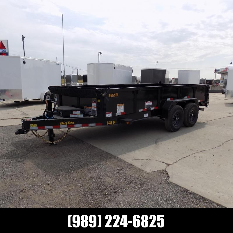 New Big Tex Trailers 7' x 16' Low Pro Dump Trailer For Sale - $0 Down Financing Available
