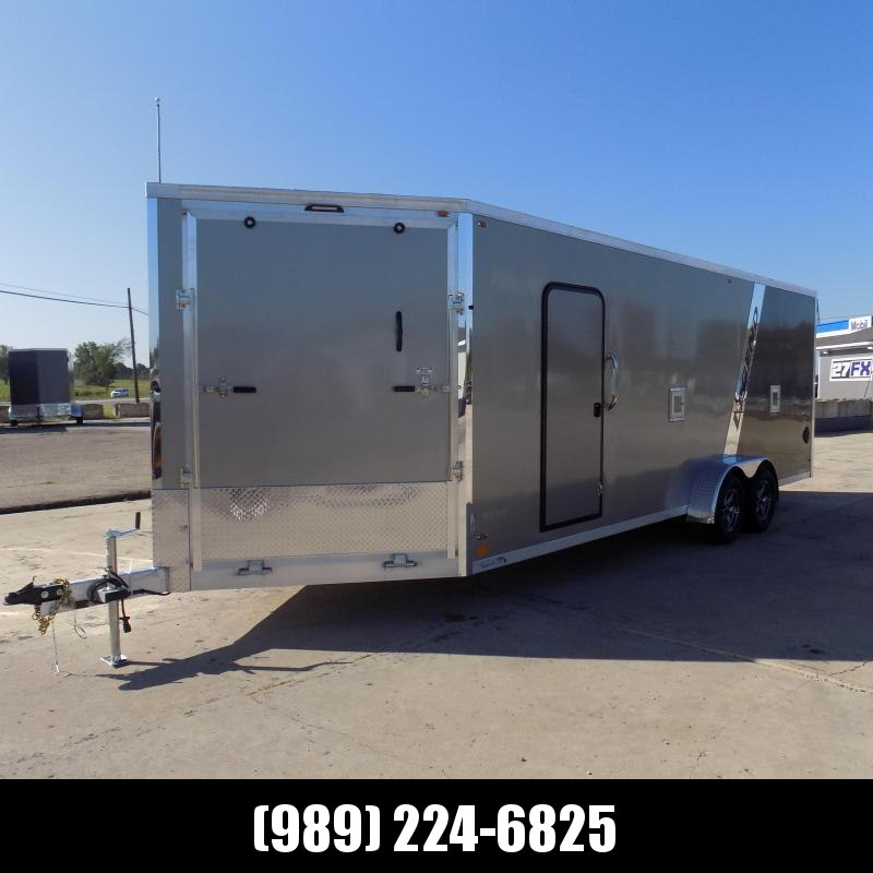 """New Legend Explorer 7' X 27"""" Wide Snowmobile / All Sport Trailers - NO Interior Wheel Wells - $0 Down w/Financing Options Available"""