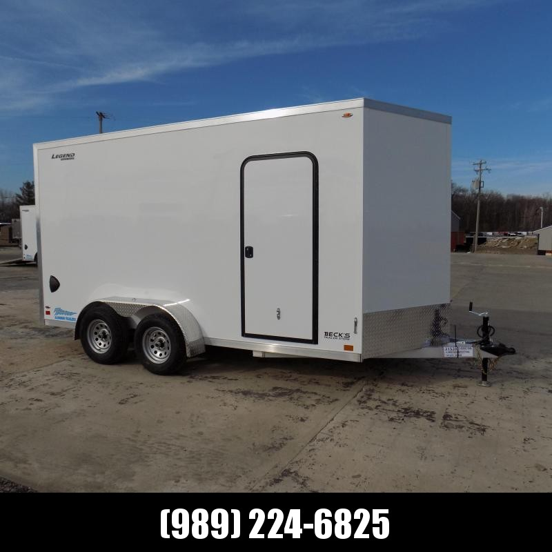 New Legend Thunder 7' X 16' Aluminum Enclosed Cargo Trailer For Sale - $0 Down Payments From $113/Mo W.A.C