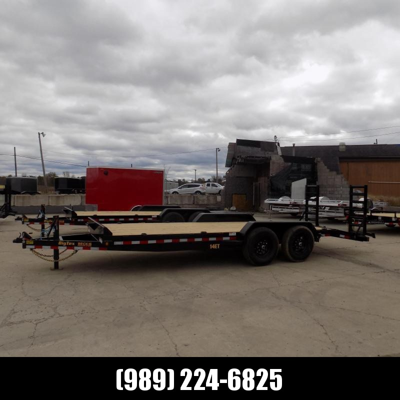 """New Big Tex 83"""" x 20' Equipment Trailer For Sale - $0 Down & Payments From $129/mo. W.A.C."""