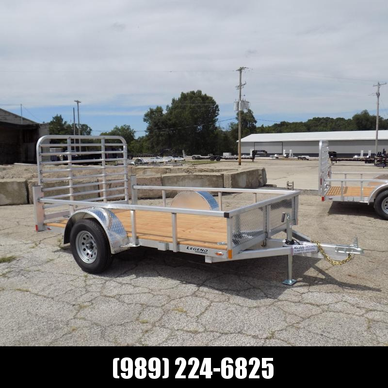 New Legend Open Deluxe 6' x 10' Aluminum Utility - $0 Down & Payments From $77/mo. W.A.C.