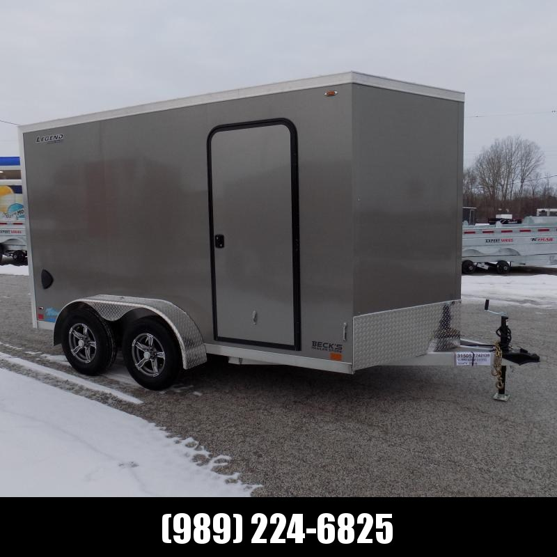 New Legend Thunder 7' x 14 Aluminum Enclosed Cargo For Sale - $0 Down & Payments From $111/mo. W.A.C.