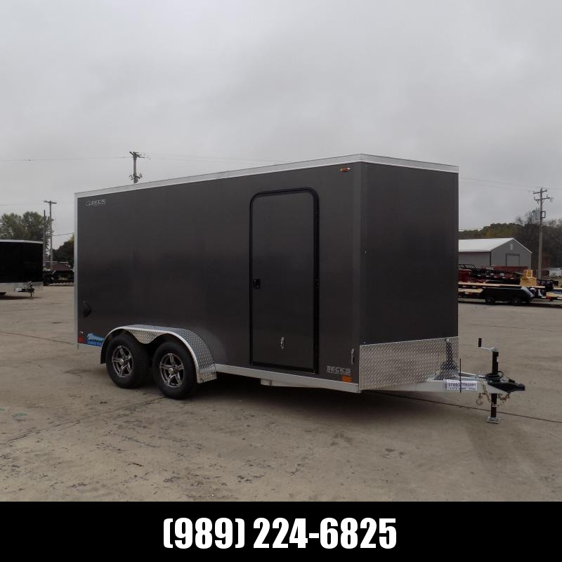 New Legend Thunder 7' x 16' Aluminum Enclosed Cargo Trailer for Sale- $0 Down Payments From $127/Mo W.A.C.