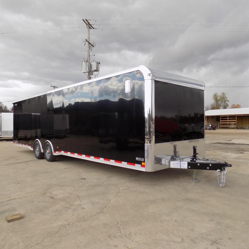 New Legend Trailmaster 8.5' x 32' Aluminum Race Series Trailer w/ Escape Door & 7K Torsion Axles - $0 Down Financing Available