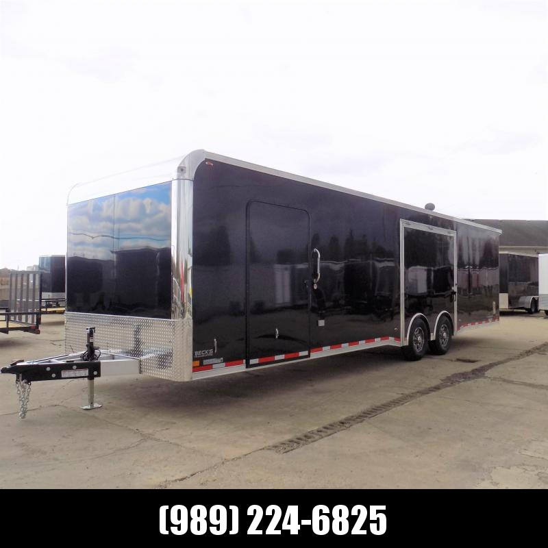 New Legend Trailmaster 8.5' x 32' Aluminum Race Series Trailer w/ Escape Door & 7K Torsion Axles - $0 Down Financing Available