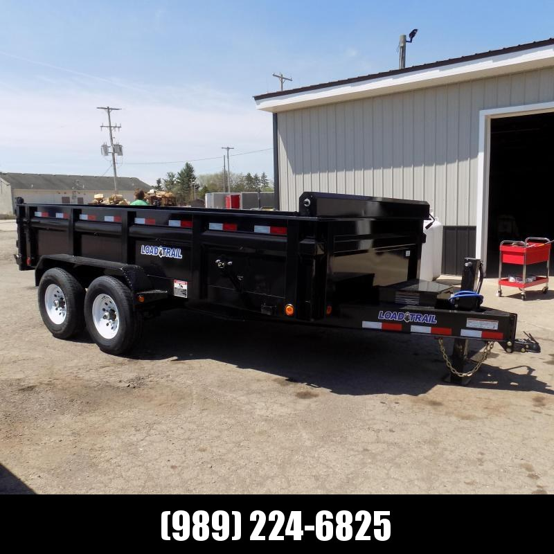 """New Load Trail 83"""" x 14' Dump Trailer for Sale - $0 Down & Payments from $149/mo. W.A.C."""