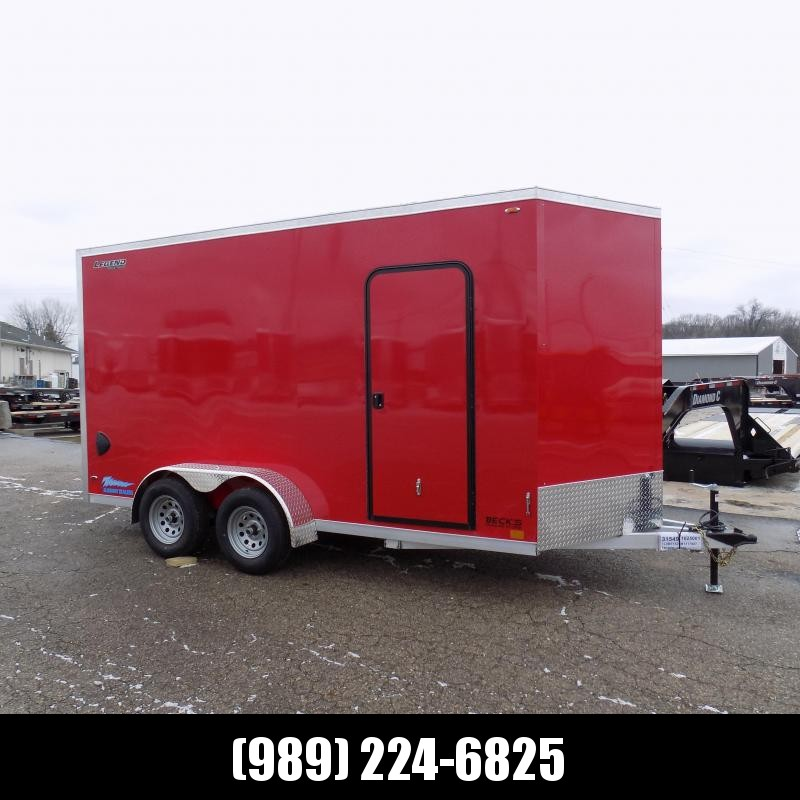New Legend Thunder 7' X 16' Aluminum Enclosed Cargo Trailer For Sale - $0 Down Payments From $115/Mo W.A.C
