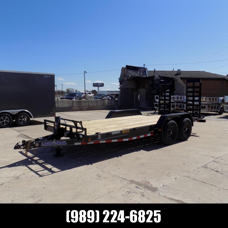 """New Load Trailer 83"""" x 18' Car/Equipment Trailer With 7K Axles - $0 Down & Payments from $113/mo. W.A.C."""