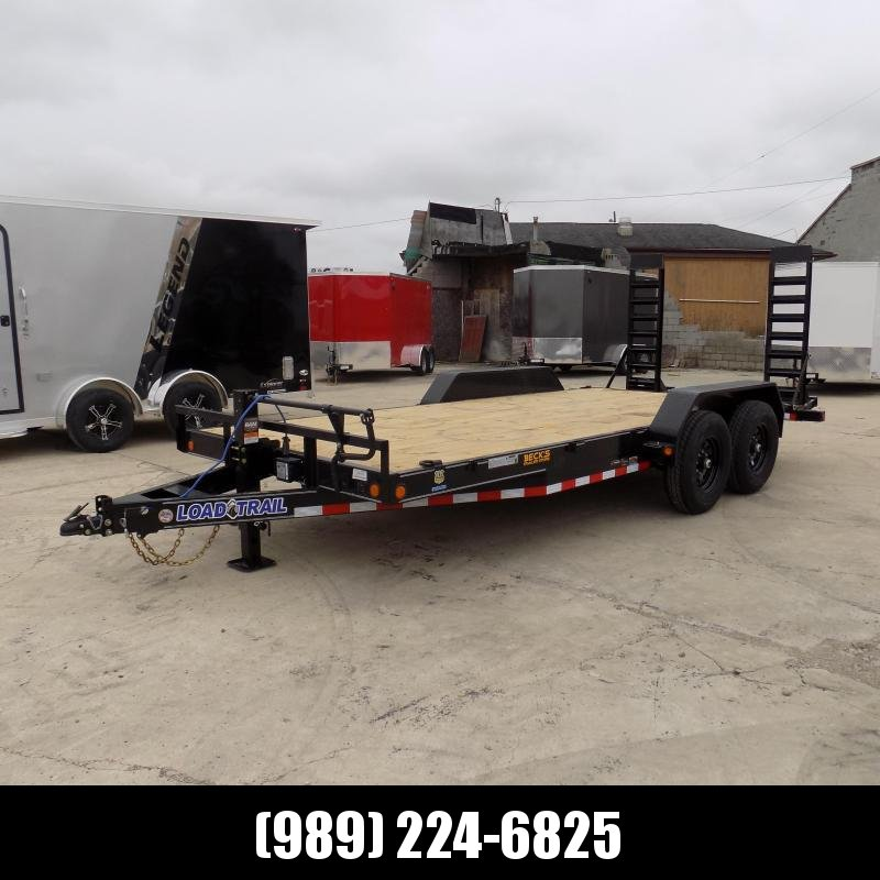 """New Load Trailer 83"""" x 18' Car/Equipment Trailer With 7K Axles - $0 Down & Payments from $115/mo. W.A.C."""