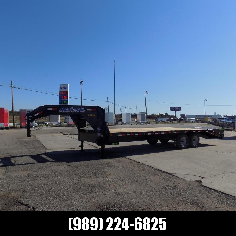 """New Load Trail 102"""" x 25' Gooseneck Equipment Trailer - Flexible $0 Down Financing Available"""