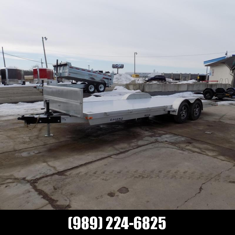 New Legend 7' x 22' Aluminum Open Car Hauler - Torsion Axles - $0 Down & Payments From $117/mo. W.A.C.