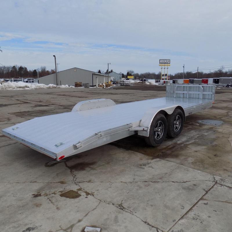 New Legend 7' x 22' Aluminum Open Car Hauler - Torsion Axles - $0 Down & Payments From $117/mo. W.A.C.