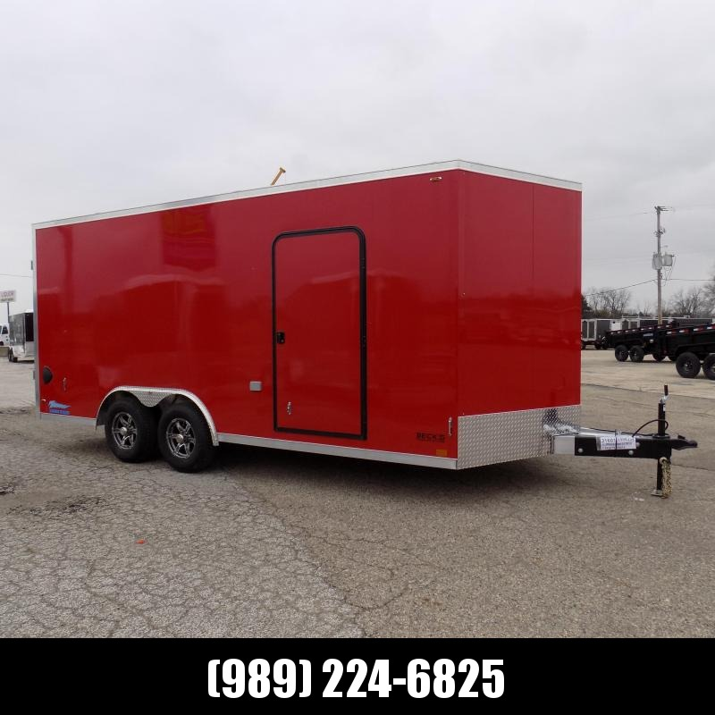 New Legend Thunder 8.5' X 20' Aluminum Enclosed Cargo Trailer - Torsion Axles - $0 Down & Payments From $145/mo. W.A.C.