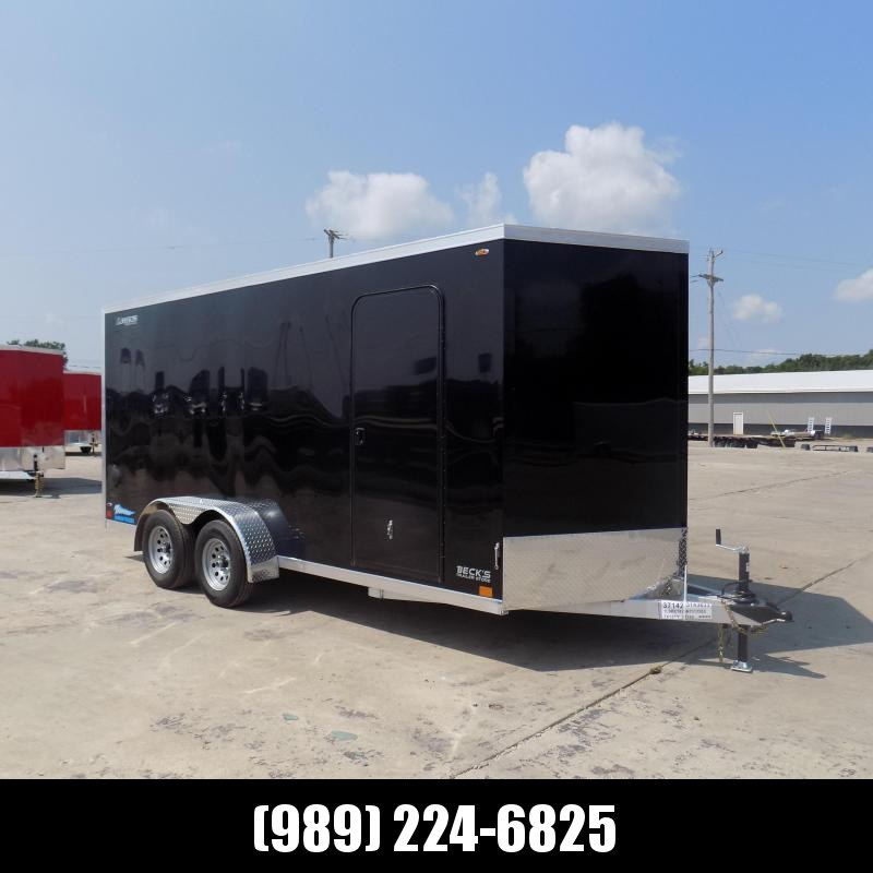 New Legend Thunder 7' x 18' Aluminum Enclosed Cargo Trailer for Sale- $0 Down Payments From $115/Mo W.A.C.