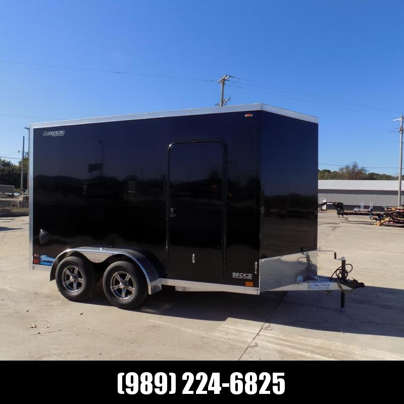 New Legend Thunder 7' x 14' Aluminum Enclosed Cargo Trailer for Sale- $0 Down Payments From $127/Mo W.A.C.