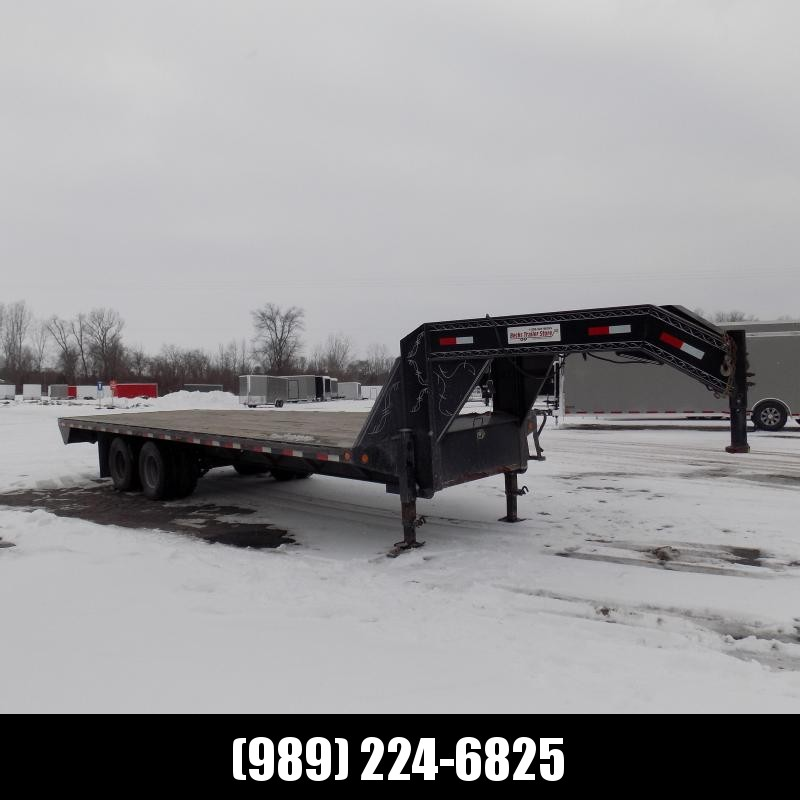 "Used Load Trail 102"" x 25' Gooseneck Equipment Trailer For Sale - New Trade - Call For More Details"
