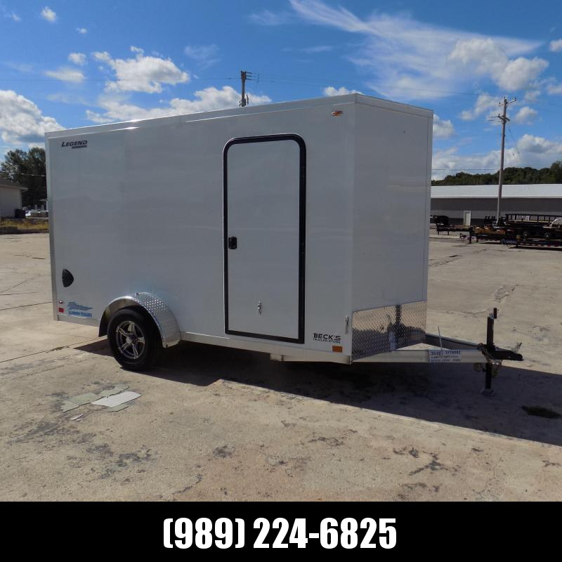 New Legend Thunder 6' x 13' Aluminum Enclosed Cargo Trailer for Sale- $0 Down Payments From $119/Mo W.A.C.