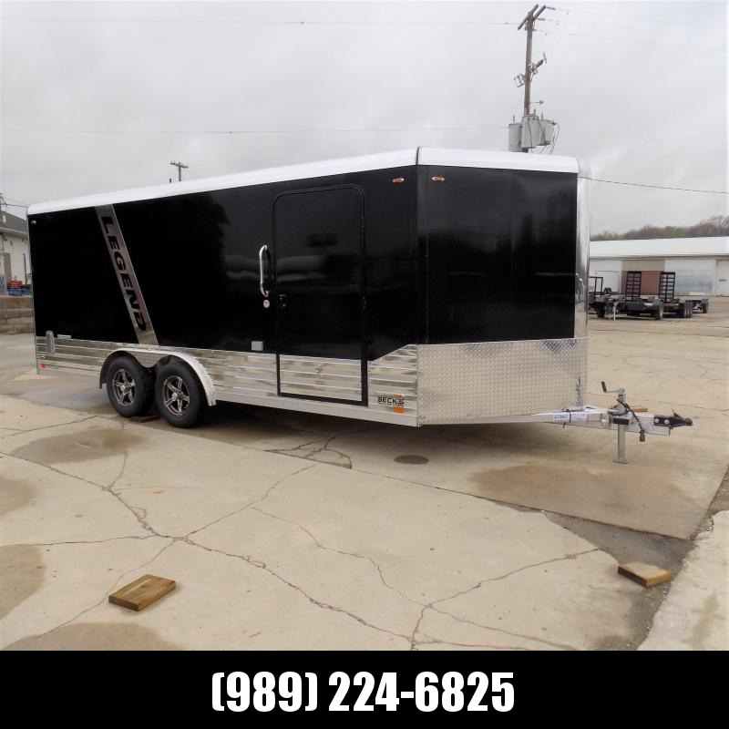 New Legend Deluxe V-Nose 8' x 21' Enclosed Cargo Trailer - $0 Down & $145/mo. W.A.C.