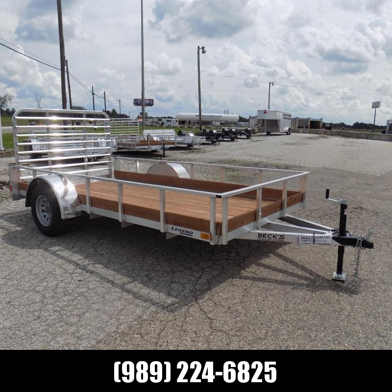 New Legend 6' x 12' Aluminum Utility Trailer For Sale - $0 Down & Payments From $77/mo. W.A.C.