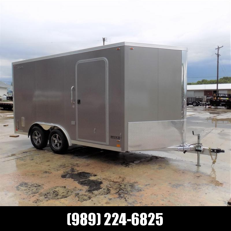 New Legend FTV 8' x 17' Heavy Duty Aluminum Contractor/Cargo Trailer - $0 Down Financing Available