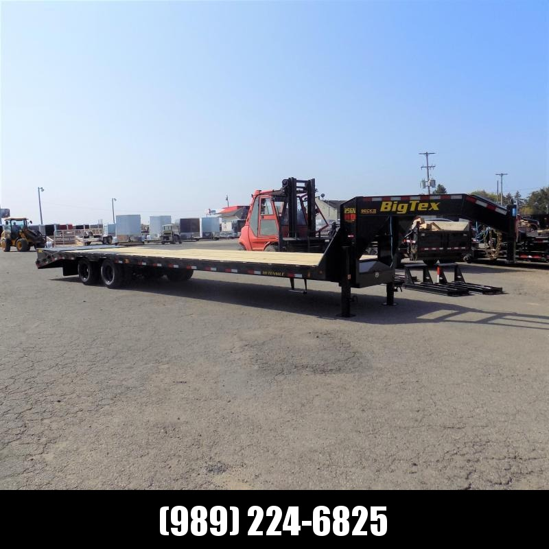 """New Big Tex 102"""" x 30' + 5' Gooseneck Trailer w/ 25900# Weight Rating - $0 Down Financing Available"""
