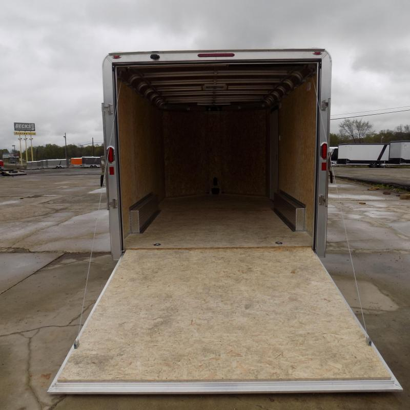 New Legend Deluxe V Nose 8' X 17' All Aluminum Cargo Trailer - Awesome For All Your Toys & Cargo - Flexible $0 Down Financing Available