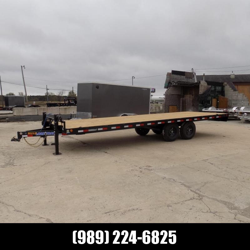 """New Load Trail 102"""" x 24' Deckover Equipment Trailer For Sale - $0 Down & Payments from $115/Mo W.A.C"""