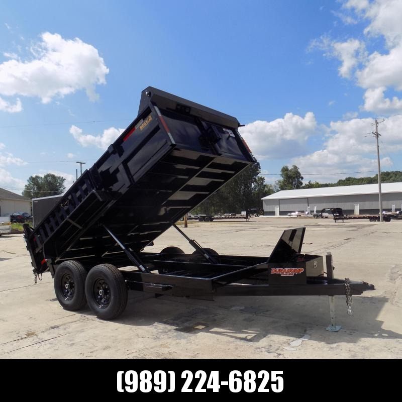 New DuraDump 7' x 12' Dump Trailer For Sale - Payment From $133/mo. With $0 Down W.A.C.