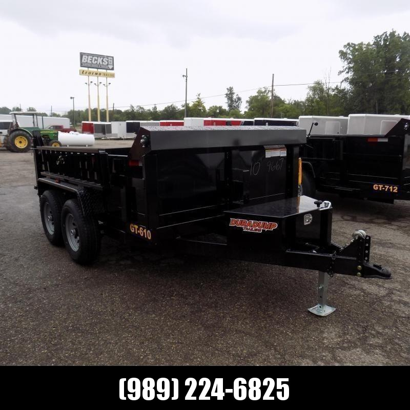 New DuraDump 6' x 10' Dump Trailer For Sale - Only $115/mo. & $0 Down Payment W.A.C.