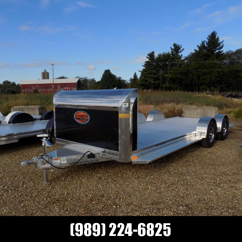 """New Sundowner Trailers 81"""" X 20' Open Car Hauler/Equipment Trailer For Sale - $0 Down with $129/mo Payments W.A.C"""