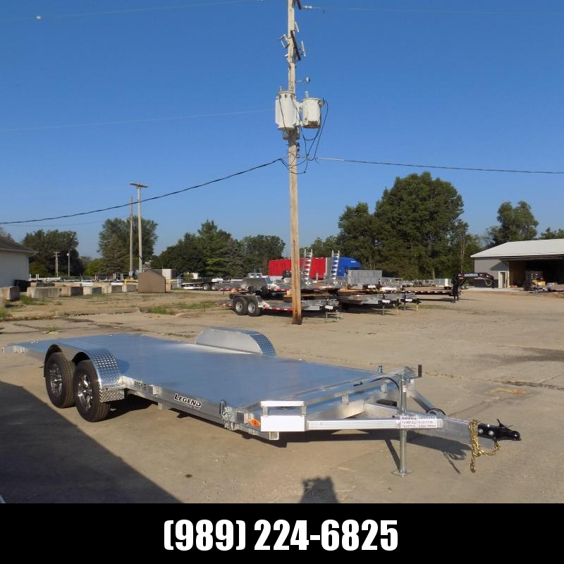 New Legend 7' x 22' Aluminum Tilt Deck Car Hauler - $0 Down & Payments From $141/mo. W.A.C.