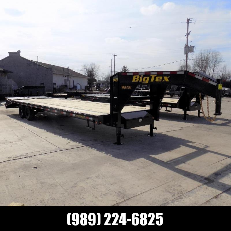 """New Big Tex Trailers 102"""" x 25'+5' Gooseneck Trailer With Mega Ramps - $0 Down & $155/mo. W.A.C."""