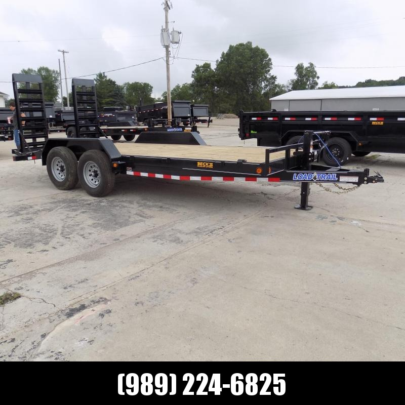"""New Load Trailer 83"""" x 18' Open Car Hauler/Equipment Trailer With 7K Axles - $0 Down & Payments from $115/mo. W.A.C."""