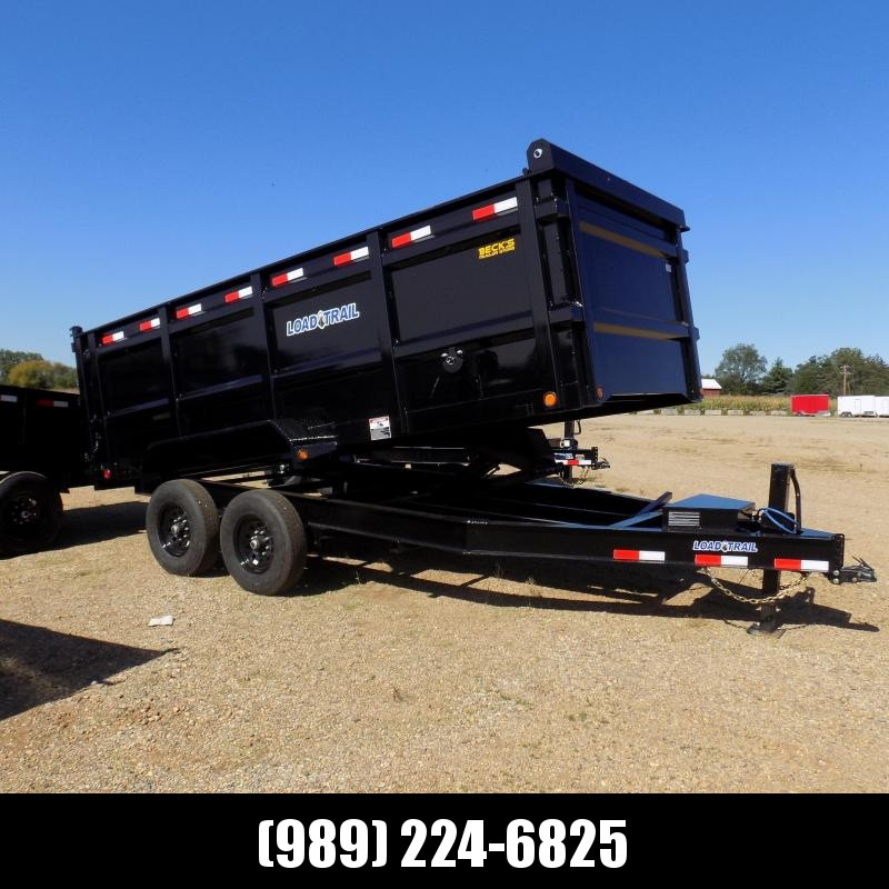 """New Load Trail 83"""" x 16' Dump Trailer for Sale - $0 Down & Payments from $149/mo. W.A.C."""
