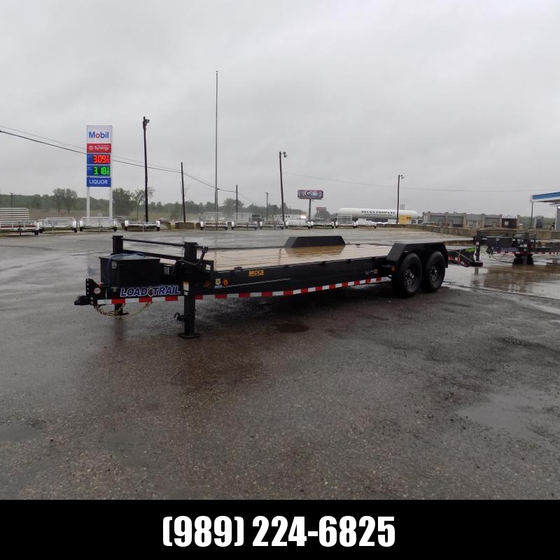 """New Load Trailer 83"""" x 24' Car Hauler Trailer For Sale With 7K Axles- $0 Down & Payments from $105/mo. W.A.C."""