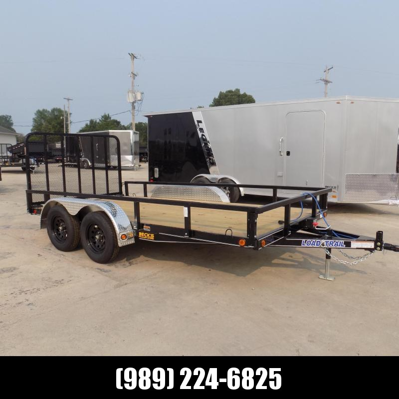 """New Load Trail 83"""" X 14' Tandem Axle Utility Trailer - $0 Down & Payments from $113/mo. W.A.C."""