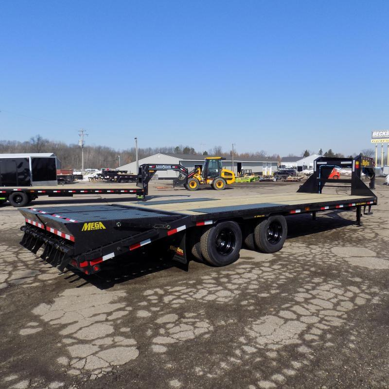 "New Big Tex 102"" x 20' + 5' Gooseneck Trailer w/ 23900# Weight Rating - $0 Down Financing Available"